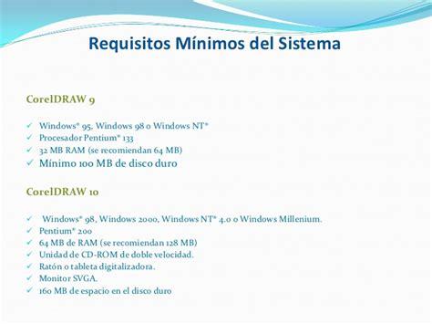 corel draw x7 requisitos minimos corel draw x3