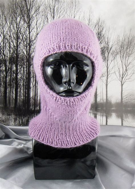 balaclava knitting pattern easy knitting pattern simple chunky balaclava pdf