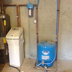 home water pressure pressure tank whole house water filter and water softener