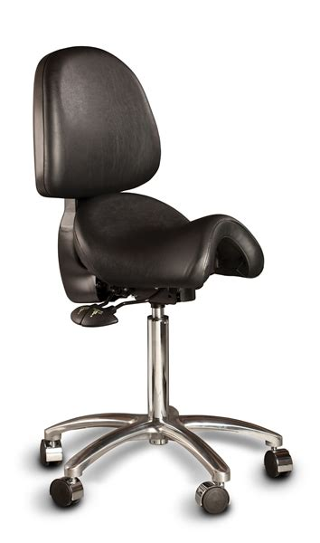 Saddle Chair With Backrest by Hager Bambach Saddle Stool For Dental Practitioners