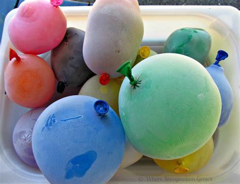 Mixing Faucet Summer Fun For Kids Glittery Frozen Water Balloons