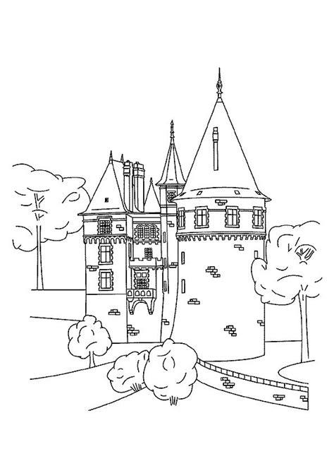 coloring pages castle tower castle coloring pages coloringpages1001 com