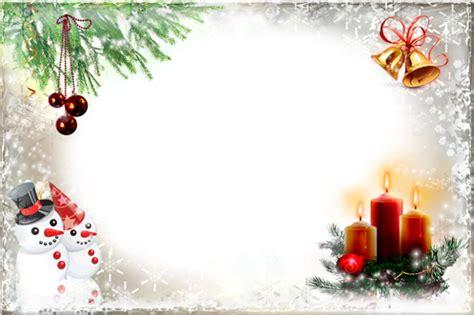 cornici simpatiche molduras fotos sinos de natal