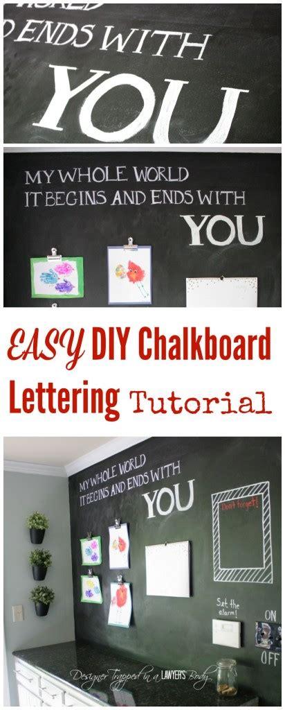diy chalkboard lettering tutorial easiest diy chalkboard lettering tutorial designer