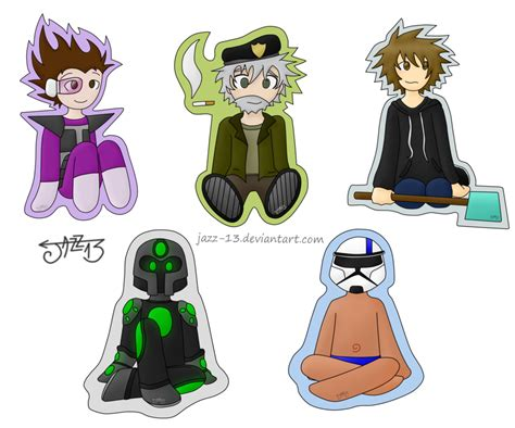 sketch version yogscast fanart minecraft by chibis youtubers by jazz 13 on deviantart