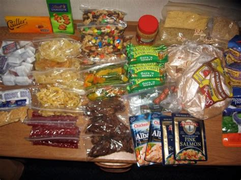 backpacking food ideas www backpack and gear com