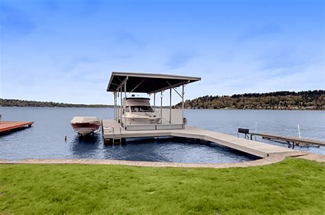 house with boat dock for sale waterfront homes with docks moorage on seattle s lake washington