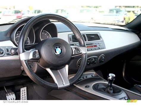 bmw z4 dashboard 2004 bmw z4 2 5i roadster black dashboard photo 69749671