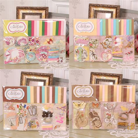 Paper Craft Cards - 15 cards envelopes handmade paper card craft