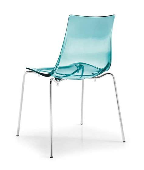 sedie plastica trasparenti sedia in metallo con seduta in plastica trasparente