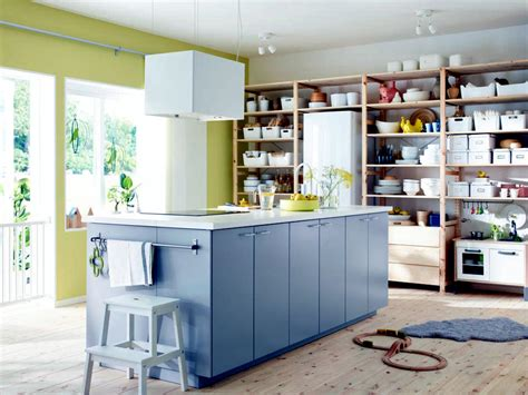 Shelves instead of Kitchen Cabinets   Interior Design