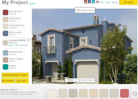 house paint colors exterior simulator 5 free online house paint simulator to paint house virtually