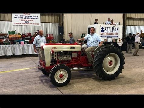 Ford Jubilee by Restored Ford Jubilee Tractor Sold For 52 000 Yesterday