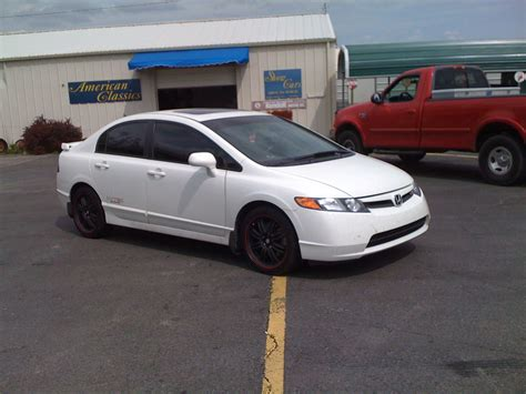 Honda Civic 2007 At yesh07civicsi 2007 honda civic specs photos modification