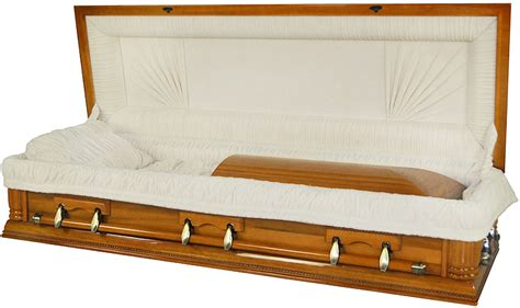 full couch casket best price caskets 8725 fc full couch w foot panel solid