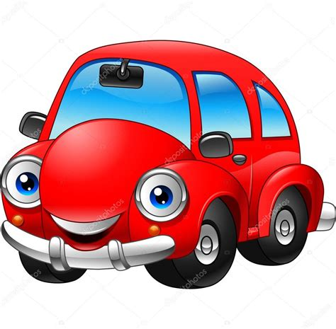 Cartoon Auto by Cartoon Grappige Rode Auto Stockvector 169 Dreamcreation01