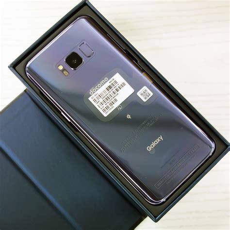Samsung S8 Docomo 開放倉庫 中古 docomo samsung galaxy s8 sc 02j orchid gray