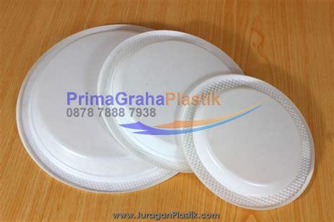 piring kue plastik piring plastik datar 6 inch 7 inch 9 inch untuk slice