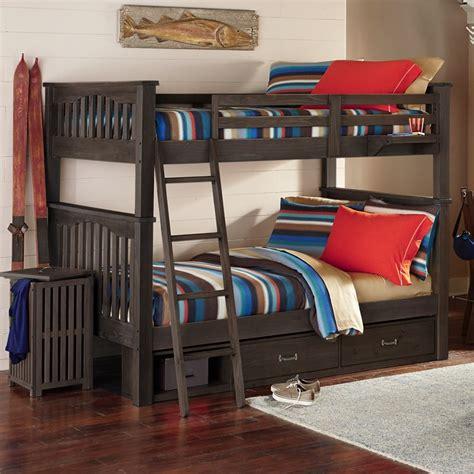 Highlands Harper Twin Bunk Bed Box A Bunk Bed Box
