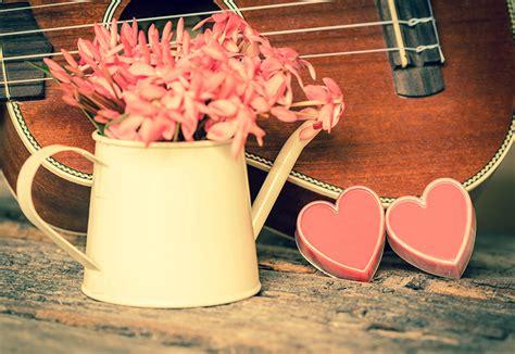 imagenes guitarras vintage fondos de pantalla vintage romantic coraz 243 n guitarra