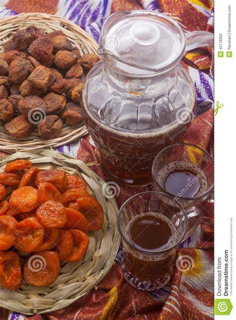uzbek food stock photos royalty free images vectors uzbek national food on traditional fabric adras royalty
