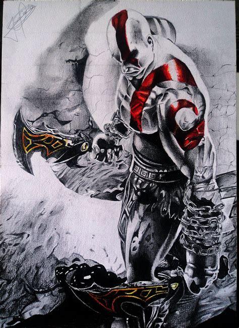 kratos god of war iii by jeancarlo183 on deviantart