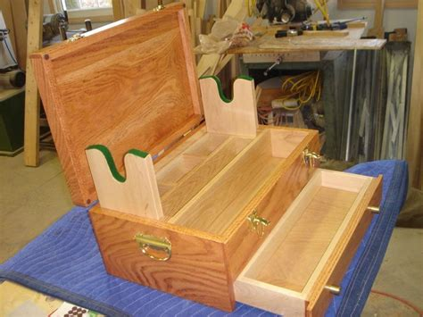woodworking plans gun cleaning box  build pinterest