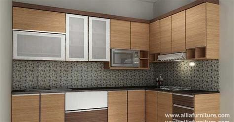 kitchen set minimalis sudut  model otto allia furniture