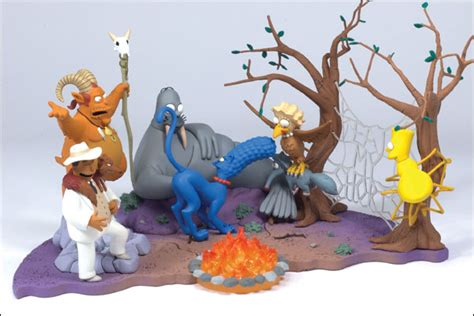 the simpsons figures from mcfarlane toys calendar
