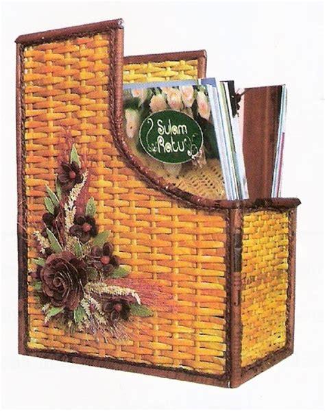 Bambu Rejeki Anyam belajar dan berbagi menyulap kertas bekas menjadi uang kertas