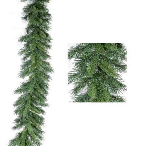 pine garland festive princess pine collection garland 270cm