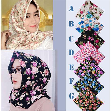 tutorial pashmina katun simple effort hijab pashmina