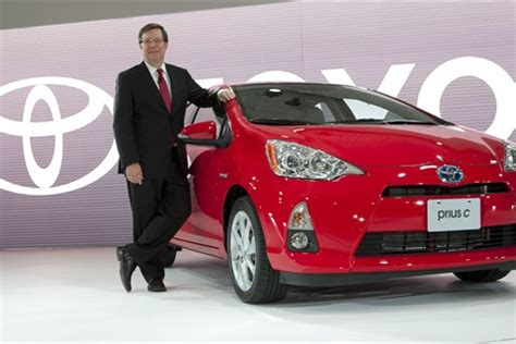 toyota international sales toyota shows new 2012 prius c in detroit news business