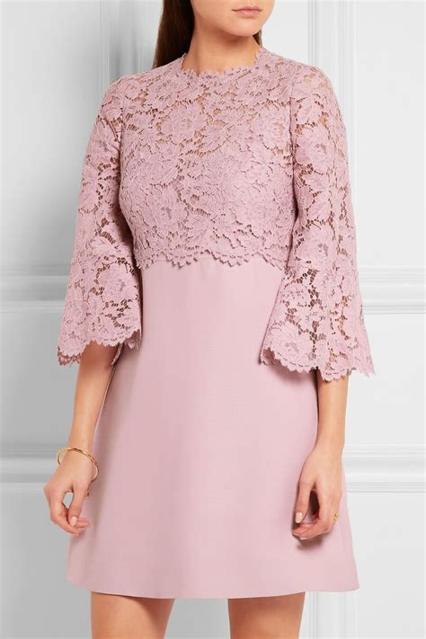Mini Dress Kebaya Baru valentino mini robe en dentelle cordonnet et en cr 234 pe 224 manches cloche net a porter