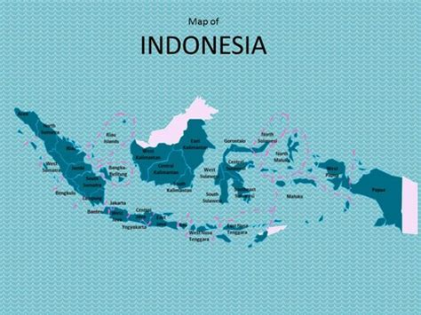 design powerpoint indonesia map of indonesia template