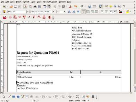 best photos of format for request for quote request for