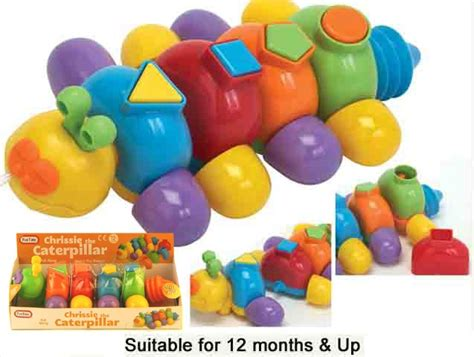 Mainan Funtime My 1st Shape Sorter comaco toys time shape sorting chrissie the caterpillar