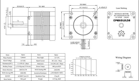 nema 23 stepper motor wiring diagram 6 wire stepper motor