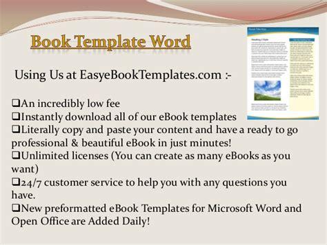 ebook templates for word ebook templates for word