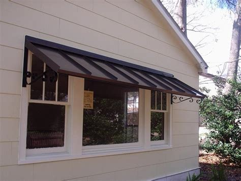 metal door awning the classic gallery metal awnings projects gallery