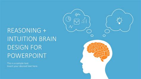 Left Brain Vs Right Brain Powerpoint Brain Ppt Template
