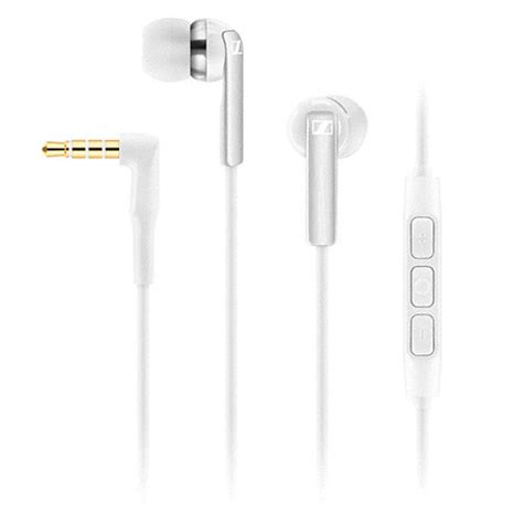 Dijamin Sennheiser Earphone Cx 2 00i sennheiser cx 2 00i earphones white apple ios 506093 b h