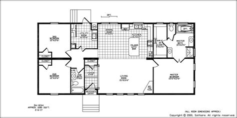solitaire mobile homes floor plans floorplans for wide manufactured homes solitaire