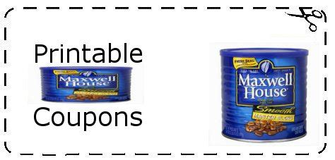 printable maxwell house coupons maxwell coffee coupons printable grocery coupons