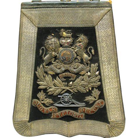 decorative original sabretache british royal artillery