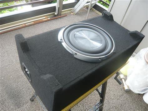 Speaker W2020 サブウーファー用ボックス エンクロージャー を作っちゃおう スバル フォレスター by バブっち みんカラ