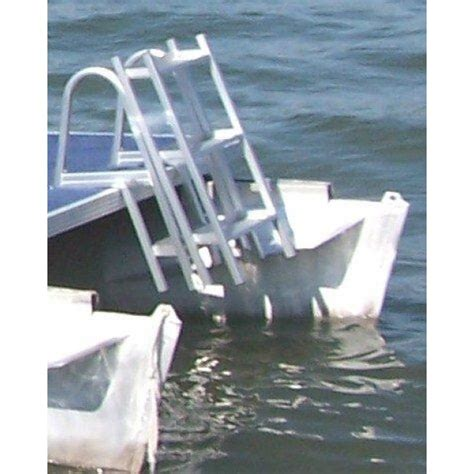 boat ladder instructions 65ft aluminum folding pontoon swim ladder