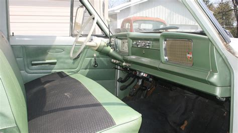 1967 jeep gladiator interior 1965 jeep gladiator thriftside 4x4 t7 indy 2012