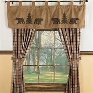 wildlife window curtains best 20 cabin curtains ideas on