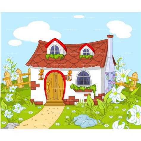free cartoon house pictures house cartoon vector garden house clipart clipground